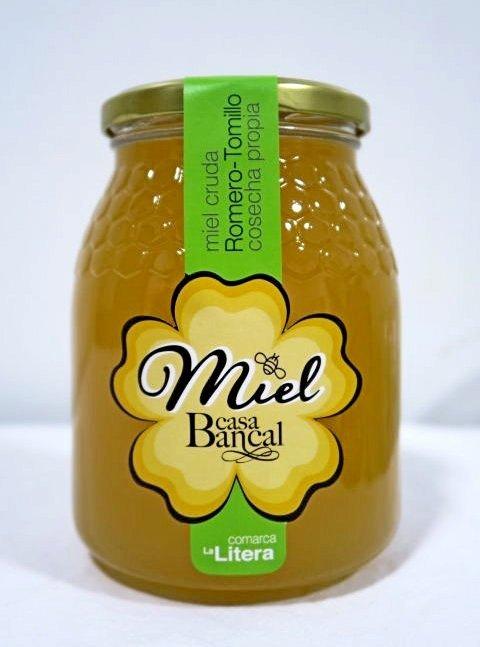 Miel de Romero y Tomillo  (1 kg)